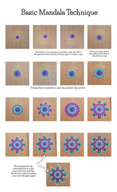 Dot Painting 101 – 6 Pro Tips for Beginners – Kelly Theresa Dot Painting 101 – 6 Pro Tips for Beginn Rock Painting Patterns, Dot Art Painting, Rock Painting Designs, Mandala Painting, Painting Flowers, Abstract Art, Dot Painting Tools, Stone Painting, Painting Templates
