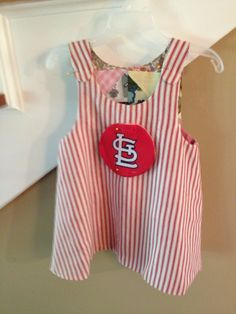 Baby Cardinals Gear! Email judypwhite @ gmail for your very own.  #baseball #cardinals #bfibs #Childrensclothing #dressup #gocards #cardinalsnation
