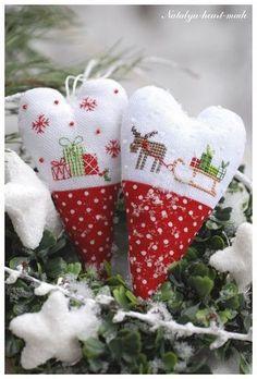 cross stitch christmas ornaments