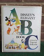 Disney's Elegant ABC Book by Vince Jeffords and Walter Elias Disney (1983, Hard…