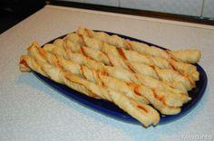 » Torciglioni di pasta sfoglia Ricette di Misya - Ricetta Torciglioni di pasta sfoglia di Misya