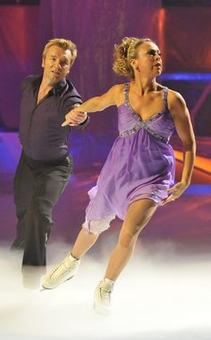 Jayne Torville & Christopher Dean, ice skaters. More info here http://www.elginism.com/parthenon-2004/olympic-medalists-back-the-return-of-the-elgin-marbles-to-athens/20030125/4584/