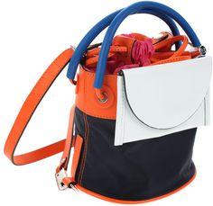 #Kenzo #Leather #Nylon #Backpack