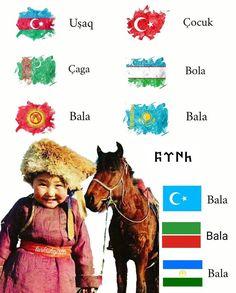 Türk Diyarlarında 'çocuk' kelimesi..