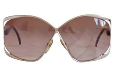 Vintage Dior Butterfly Sunglasses