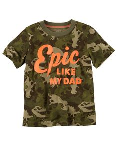 Upgrade his tees with this boys' Carter's graphic tee. Baby Boy Tops, Carter Kids, Family Tees, Baby Boy Outfits, Toddler Boys, Long Sleeve Shirts, Graphic Tees, Mens Tops, Clothes