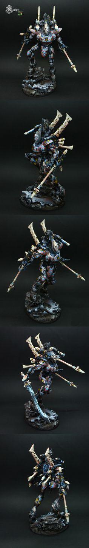 Cicero, the Eldar wraithknight