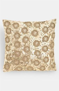 Donna Karan sequin pillow. Yes, please.