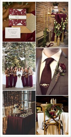 classic burgundy brown and gold winter wedding color combos goldweddingcolors… 2020 – wedding colorado wedding colors wedding colors and themes wedding colors for bridesmaids dresses Winter Maternity Outfits, Winter Outfits Women, Martha Stewart Weddings, Simple Wedding Centerpieces, Wedding Decorations, Winter Wedding Colors, Lilac Wedding, Winter Wonderland Wedding, Wedding Color Schemes
