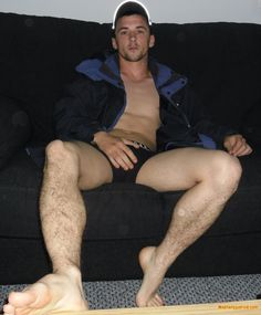 Hottie on Sofa STRIP AND LET ME AT IT THOSE LEGS ARE SO NICE