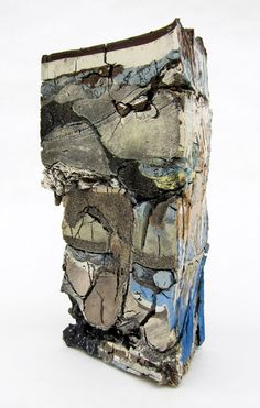 "Jonathan Mess ""Landfill Southeast Cross Section, Various clays, glazes, and stains Abstract Sculpture, Sculpture Art, Ceramic Sculptures, Contemporary Sculpture, Contemporary Art, Ceramic Techniques, Concrete Art, Hirst, Ceramic Materials"