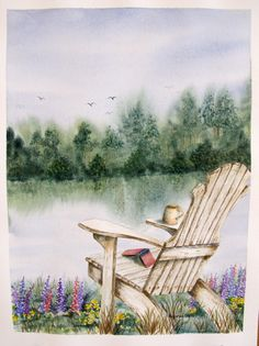 put an inviting chair in a scene!