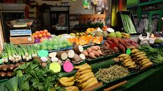 As colourful as a market can get. Brixton Market.