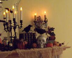 Decoración de chimeneas para Halloween - DecoraHOY