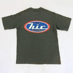 e71ae7a77 Vtg 90s HAWAIIAN ISLAND CREATIONS HIC SURFER Kailua Surf Black Logo T-Shirt  XL   eBay