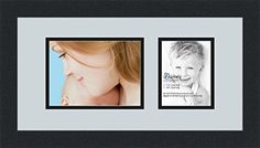 ArtToFrames Collage Photo Frame Double Mat with 1 Openings and Satin Black Frame -- Click image for more details. Poster Frames, Collage Photo, Satin, Image, Black, Black People, Elastic Satin, All Black, Photo Collages
