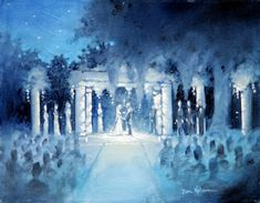 wedding photo idea!! Lovely idea for fairy tale weddings and winter wonderland themed weddings.