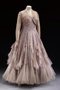 Evening Dress, Norman Hartnell - 1948.