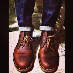 #clarks | #desertboots | Instagram photo by @broomies