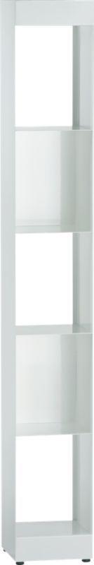 carlson II white tower in storage | CB2