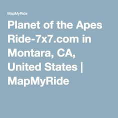 b85671a74 Planet of the Apes Ride-7x7.com in Montara