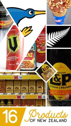 16 Products of New Zealand - Backpacker Guide New Zealand