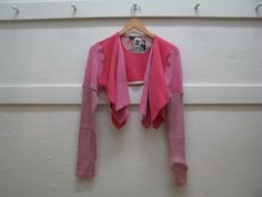 Florence Shrug by Paper People. Long sleeved shrug made from reclaimed sweaters.  Assorted colours: $50