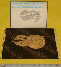 CA 1922 Original Pen Ink Deco Nude by Dugald Stewart Walker from Rainbow Gold | eBay