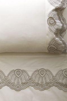 Eyelet Embroidered Sheet Set - anthropologie.com
