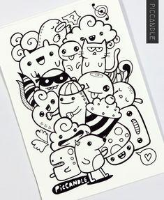 Just A Random Doodle | www.youtube.com/piccandle | #doodle