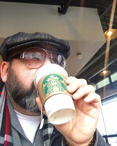 I don't drink coffee but #starbucks has a delicious #greentea that really hits the spot! @starbucks #Lifestyle #blogger #vlogger #foodie #fashion #style #GQ #beard #beardlife #bear #sexy #selfie #sunglasses #mensstyle #mensfashion #hip #cool #VIP #fatman #ootd #mafia #mob #mobboss #sexyman #streetstyle #DoTube #travel #photooftheday #fashionpost