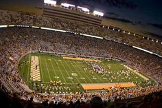 University of Tennessee fans that do choose to stay close to Neyland Stadium will discover countless hotel chains. Description from secsportsfan.com. I searched for this on bing.com/images