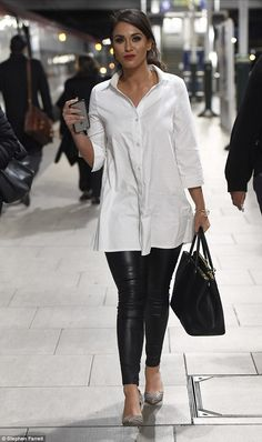 Vicky Pattison at the This Morning show