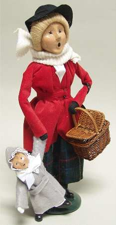 I love Byers Choice Carolers--I have a nice size collection and ...