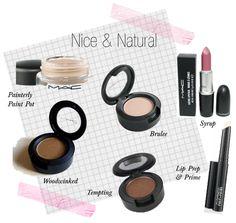 MAC natural make up tutorial