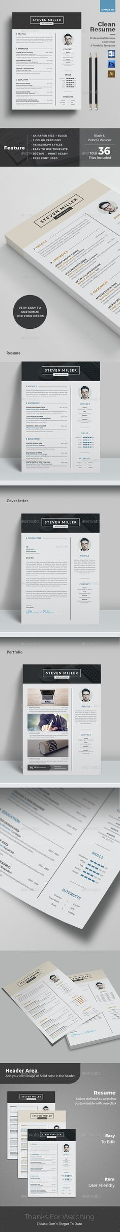 Resume Resumes Stationery Download here https graphicriver