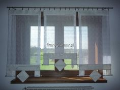 Ekrany, nowy wzór Window Cornices, Shades Blinds, Curtains With Blinds, Drapery, Window Treatments, Windows, Decorating, Inspiration, Furniture
