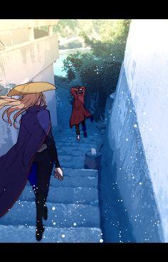 Sakamoto Tatsuma x Mutsu Sakamoto Tatsuma, Manga Cute, Okikagu, Twitter Image, Anime Love Couple, Jojo's Bizarre Adventure, Studio Ghibli, Mobile Wallpaper, Me Me Me Anime