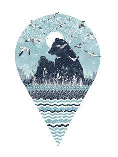 Sandra Dieckmann Illustration Giveaway