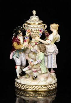 Meissen Covered Urn