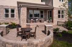 Outdoor Living Space, Rowan Model/Floor Plan, Indianapolis- Drees Homes