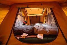 Ingenious Car Rooftop Tents that Will Change the Way We Camp Camping Gear, Camping Stuff, Roof Top Tent, Outdoor Furniture, Outdoor Decor, Rooftop, Bunk Beds, Tents, Gadget