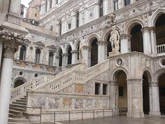 "renaissance-art:  "" The Giant's Staircase- Venice  """