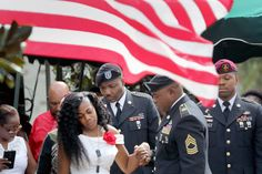 Soldiers Widow Says Trump Struggled to Remember Sgt. La David Johnsons Name