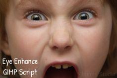 Eye Enhance Gimp Script by jldickison.deviantart.com on @deviantART
