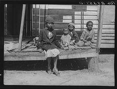 LOC - Sharecropper's children. Montgomery County, Alabama