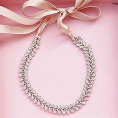 Cinta Rhinestone de la Hoja de Cristal Venda de La Flor de La Aleación de La Boda accesorios Nupciales Del Pelo