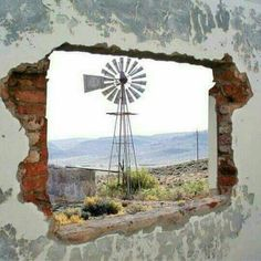 Renewable Energy For Your Home Can Save You Money – Solar Energy Advice Farm Windmill, Cool Pictures, Beautiful Pictures, Beach Pictures, Beautiful Places, Old Windmills, Origami, Water Tower, Old Farm