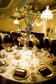 Wedding Reception in The Saint Paul Hotel's Grand Ballroom.