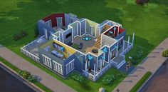 The sims 4 building demo
